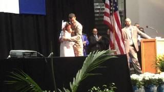 Miami East High School Graduation Military Surprise