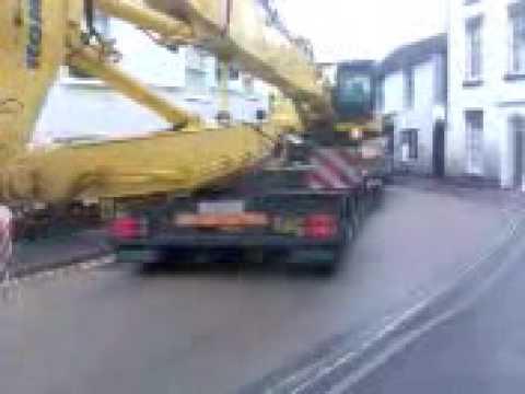 Wem Shropshire Mayday crane one