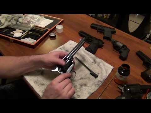 Colt Single Action Army Takedown and Cleaning