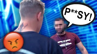 I CONFRONTED THIS TOUGH GUY AFTER HE TALKED SH*T.. HERES WHAT HAPPENED.. thumbnail