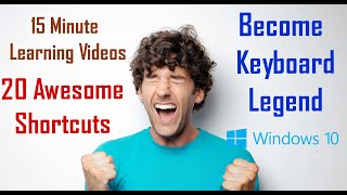 Keyboard shortcuts for windows 10 | 20 shortcut keys of computer | shortcut keys for laptop