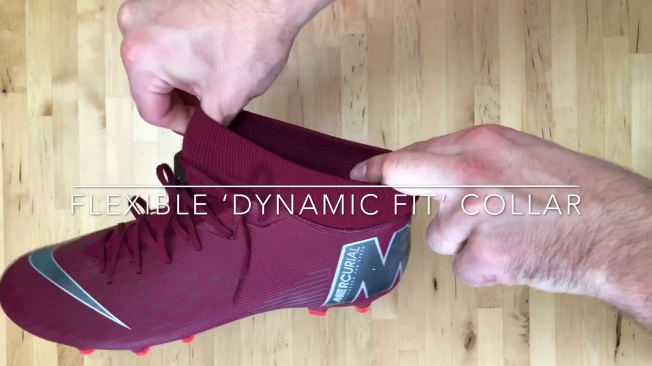 buy popular 049d1 b62cb Nike Mercurial Superfly VI Academy MG/FG 'team red/dark grey' | UNBOXING &  ON FEET | football boots