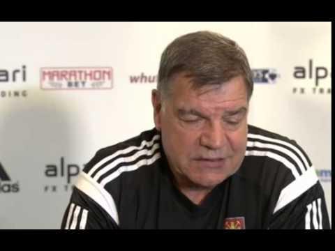 West Ham manager Sam Allardyce: We are under pressure to get points