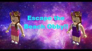Roblox- Escape da Praia (Escape The Beach Obby) Ft. Lulu