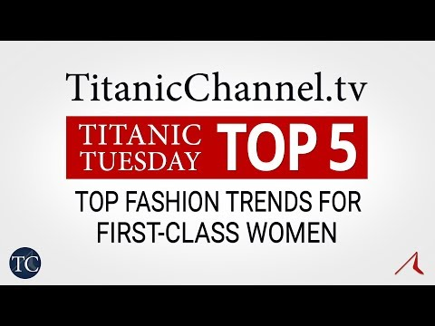 Top 5 Fashion Trends for First Class Women