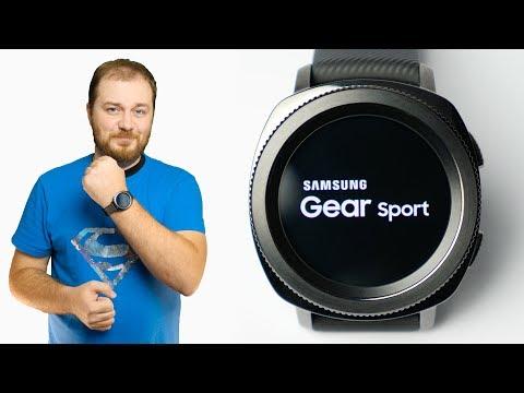 Обзор умных часов Samsung Gear Sport - эволюция с мыслью о плавании