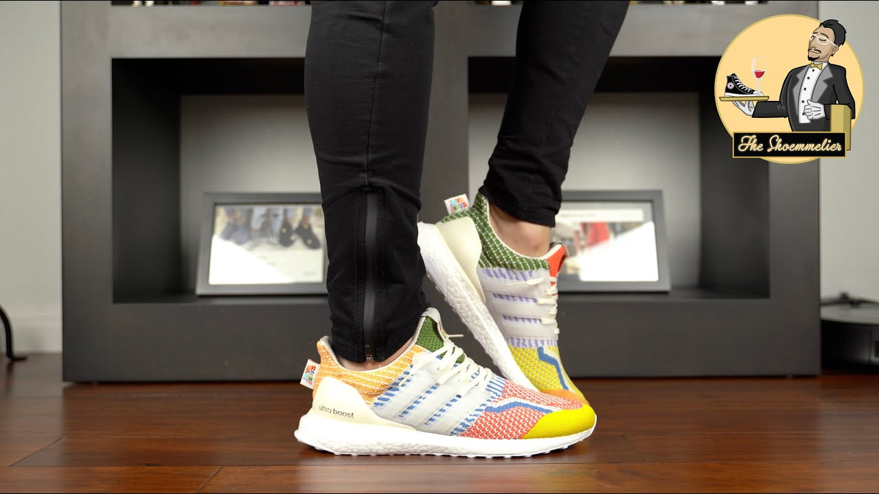 A colorway that reminded me why I LOVE Ultra Boost! • adidas Ultra Boost 5.0 DNA 'Pride/Love Unites'