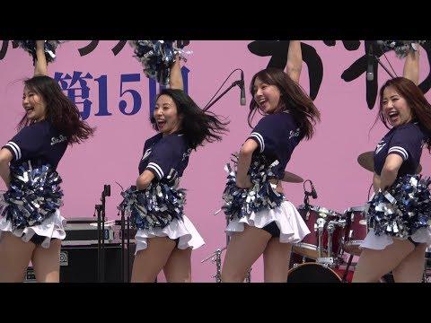 Cheerleading Xリーグ チアリーダー アサヒビールシルバースター @かわさき楽大師まつり2019