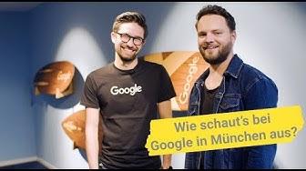 Wie schaut's bei Google in München aus? | 'Frag doch Google' #6