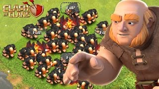 Clash Of Clans - Funny Moments With Gaints With Funny Commentary