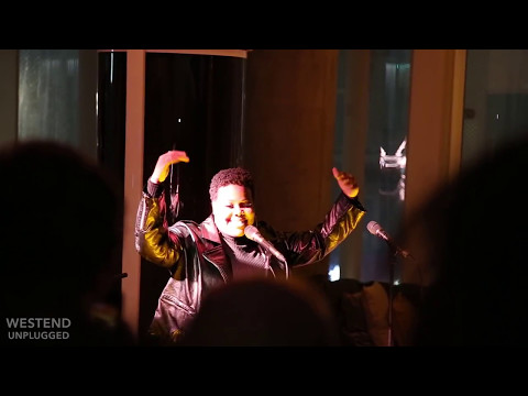 AMBER RILEY sings Acoustic Beyonce cover 1+1 at WEST END UNPLUGGED