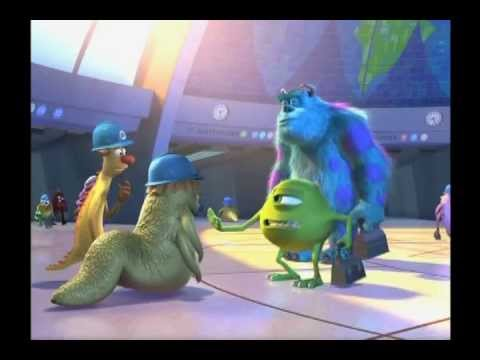 Pixar: Monsters, Inc. - hilarious movie outtakes (HQ) Mp3