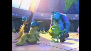 Pixar: Monsters, Inc. - Hilarious Movie Outtakes (HQ)