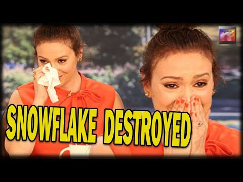 BOOM! WATCH Snowflake Queen Alyssa Milano Get DESTROYED on Live TV