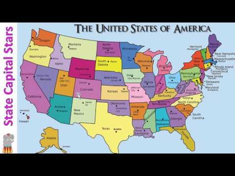 2nd grade Week 24 Social Studies State capitals YouTube