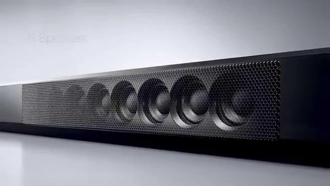yamaha ysp 1600 musiccast sound bar youtube. Black Bedroom Furniture Sets. Home Design Ideas