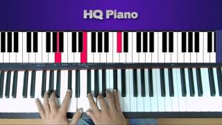 Coldplay - Trouble (Piano Tutorial)