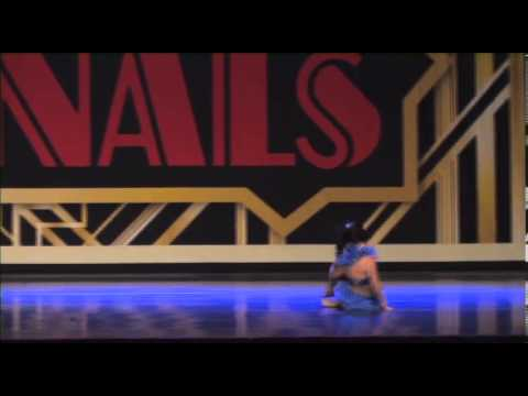 Tessa Bella deFries  age 9  Mama Know Best  Hall Of Fame Nationals Solo down