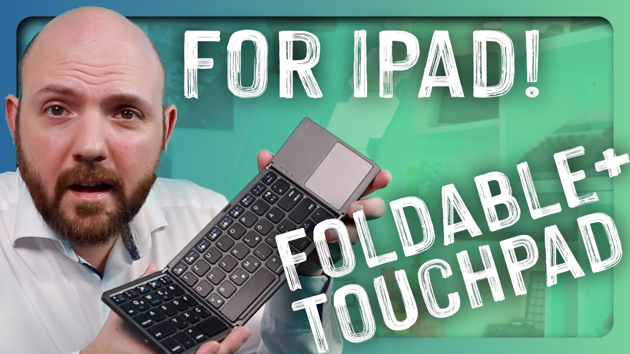 Best Foldable Keyboard With Touchpad For Ipad Pro 2020 Youtube