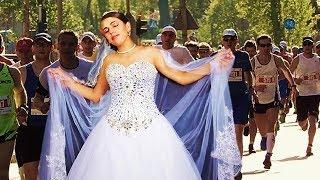 El novio canceló la boda y ella salió corriendo