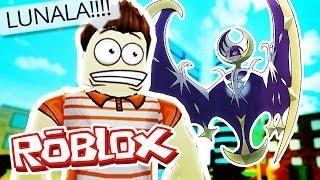 Roblox Adventures / Pokemon GO / FINDING LUNALA!
