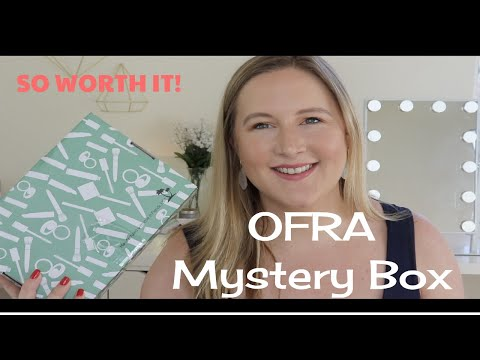 Ofra Small Mystery Box Unboxing | SO WORTH IT! thumbnail