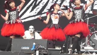 BABYMETAL - メギツネ -  MEGITSUNE Live Sonisphere Festival (Knebworth) 05.07.2014
