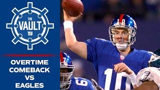 Eli Manning leads COMEBACK Overtime Win vs. Eagles in 2006