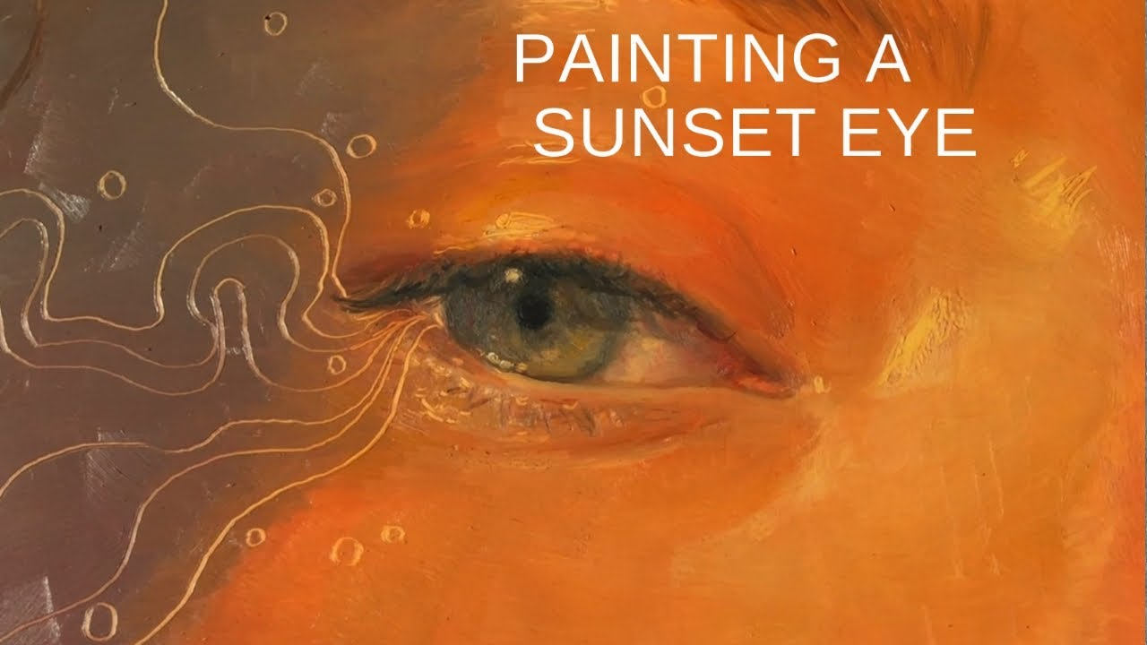 PAINTING WALK-THRU || My Thought Process While Painting an Eye