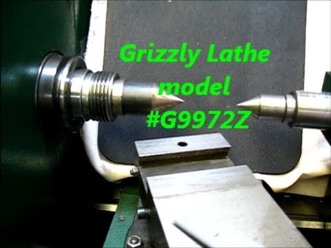 Grizzly Metal Lathe / old school tailstock alignment test