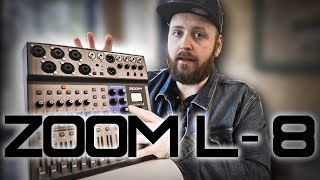 Zoom LiveTrak L-8 - A Music Producer / Youtube Creator's Perspective