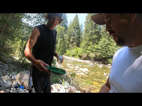Detecting Coarse Gold And Nuggets On The Yuba River.