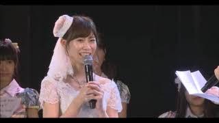SKE48としての活動を終える後藤理沙子が12月18日、名古屋市のSKE48劇場で卒業公演に出演した。 後藤への別れの手紙は、11月...