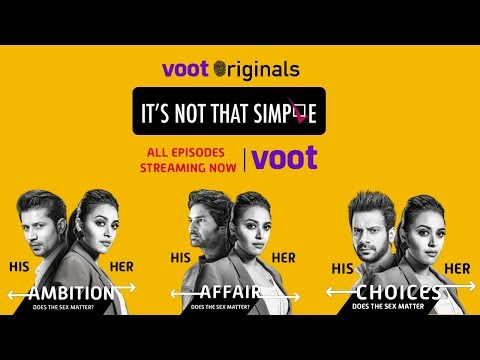 It's Not That Simple - A Voot Original | Streaming Now on Voot