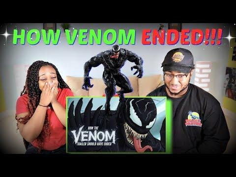 """Hishe """"How Venom Should Have Ended"""" REACTION!!!"""