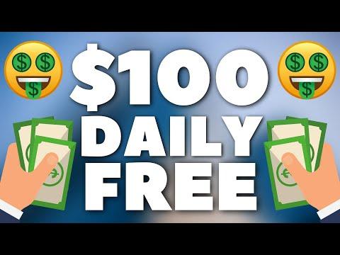 Earn $100 Every DAY For FREE (BEGINNER) – Make Money Online