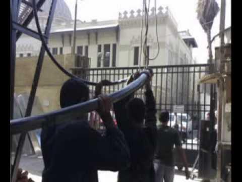 Egyptian men working.mpg