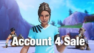 Fortnite Account For Sale Includes Renegade Raider + OG Skull Trooper (Rare Account)