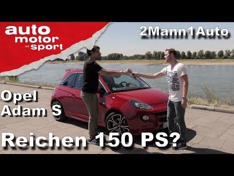 Opel Adam S – Reichen 150 PS? | 2Mann1Auto | auto motor und sport