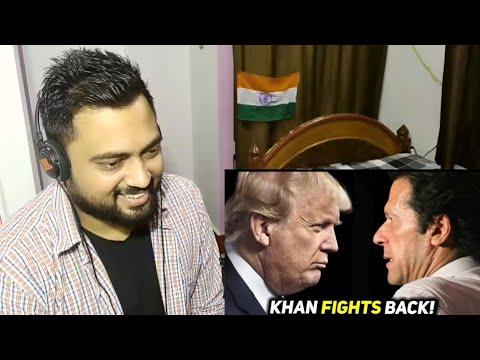 IMRAN KHAN vs DONALD TRUMP | PAKISTAN vs AMERICA | The Wide Side | Indian Reactions