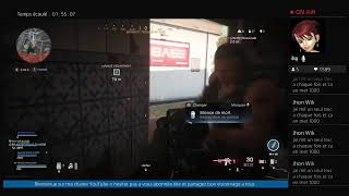 PS4 FR LIVE  WARZONE GO TOP 1 SESSION ABONNER GO 240 ABO LES´ GO