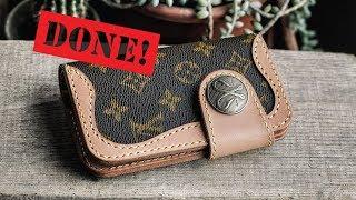 Making a D.I.Y. Louis Vuitton Cowboy Wallet! (Part 2)