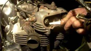Setting tappets valve clearances on my