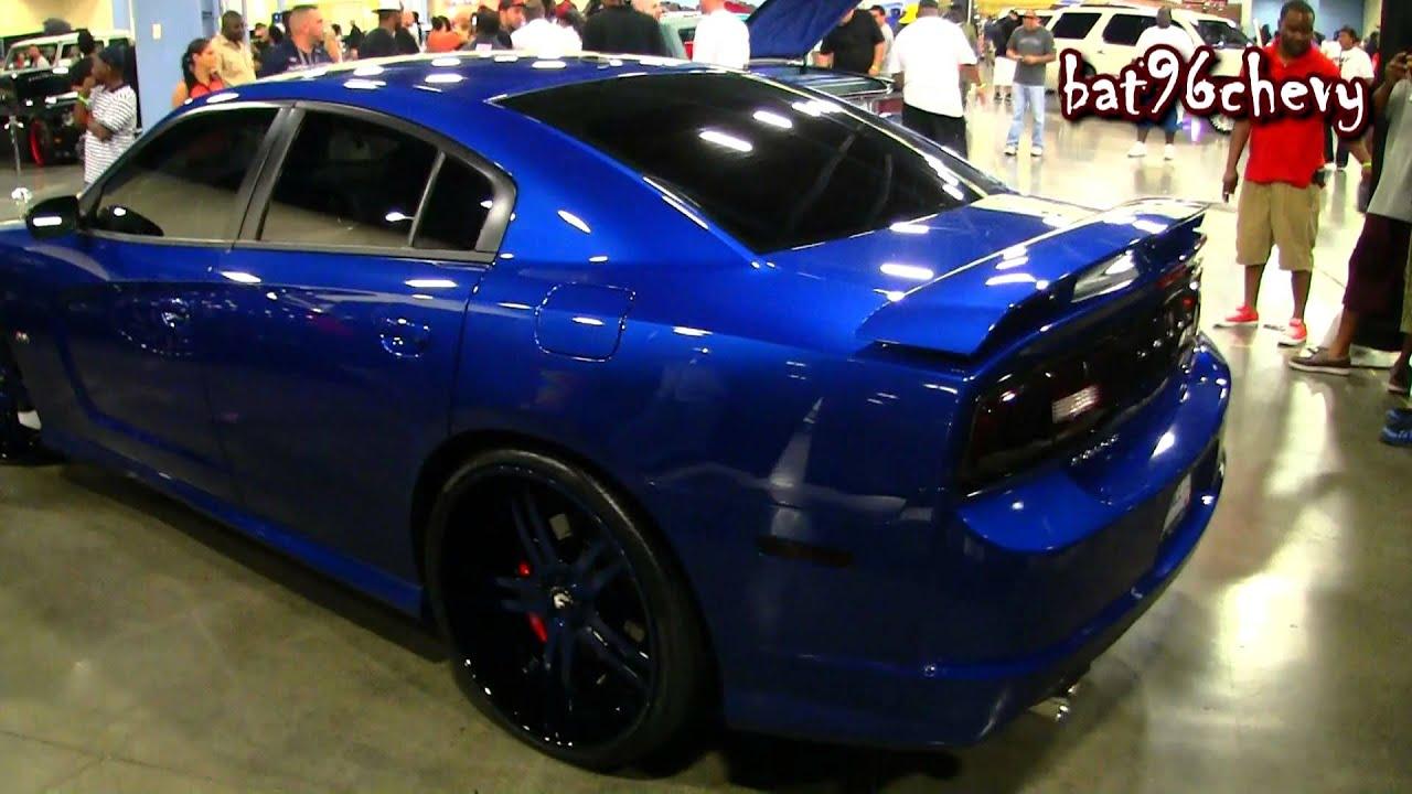 2012 dodge charger srt8 on 24 forgiatos forgiato fest 2013 1080p - Dodge Charger 2014 Dark Blue