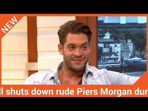 Love Island's Jonny Mitchell shuts down rude Piers Morgan during brutal interview on GMB