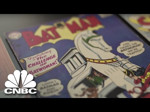 What Was In Homer Marciniak's Comic Book Collection? | American Greed | CNBC Prime