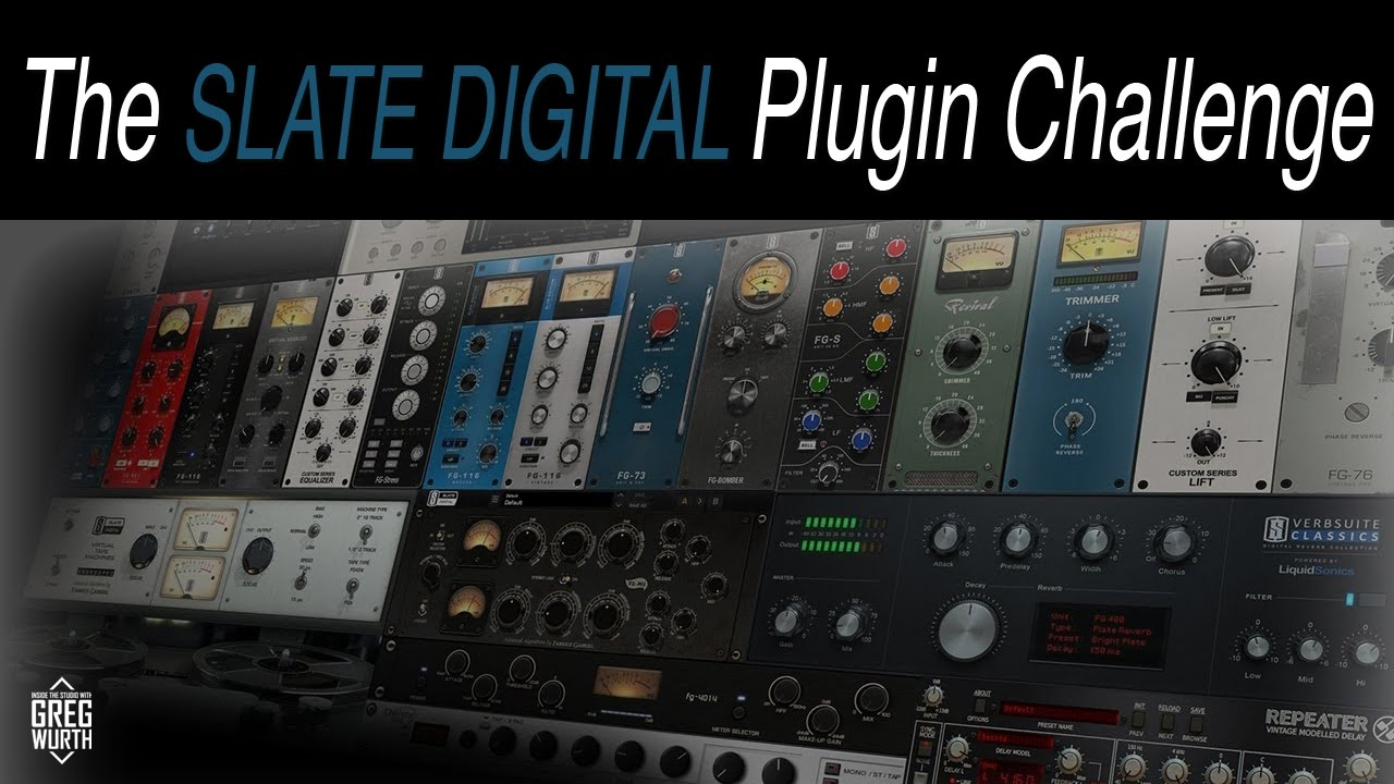 The Slate Digital Plugin Challenge - YouTube