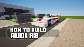 Minecraft Vehicle Tutorial - Audi R8