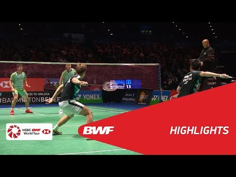 YONEX All England Open 2018   Badminton MD - QF - Highlights   BWF 2018