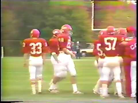 1987 Maine HIgh School Football Cony Rams vs Oxford Hills Vikings Football